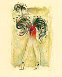 Lady Burlesque II Giclee Print by Dupre