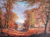 Autumn Giclee Print by Victor Elford