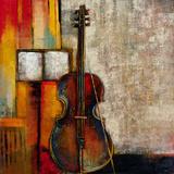 Violincello Gicléedruk van  Giovanni