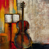 Violincello Giclee Print by Giovanni 