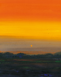 Orange Horizon Giclee Print by Paul Evans