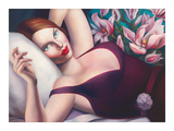 The Last Seduction Giclee Print by Rachel Deacon