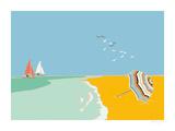Summer Bay IV Giclee Print by Emily Burningham