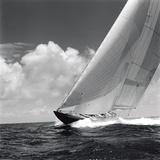 Rushing Waves II Fotografisk tryk af Michael Kahn