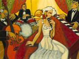 Jazz Diva Blanche Giclee Print by Marsha Hammel