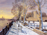 Tower of London Giclee Print by Clive Madgwick