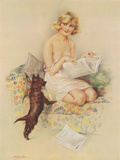 Studies in Femininity Giclee Print by  The Vintage Collection