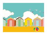 Summer Bay II Giclee Print by Emily Burningham