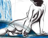 Perspectives II Impression giclée par Sergei Firer
