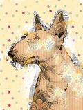 Poppet Dog IV Giclee Print by Ken Hurd