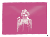 Marilyn Monroe VIII In Colour Giclee Print by  British Pathe