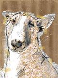 Poppet Dog III Giclee Print by Ken Hurd
