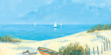 Blue Haven Bay II Giclee Print by Hazel Barker