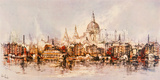 Thameside Giclee Print by Ben Maile