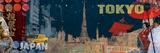Tom Frazier - Tokyo Streets Digitálně vytištěná reprodukce
