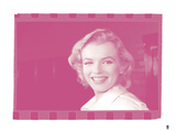 Marilyn Monroe VI In Colour Giclee Print by  British Pathe