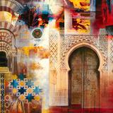 Alhambra II Giclée-Druck von Georges Generali