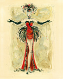 Lady Burlesque I Giclee Print by Dupre