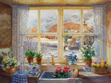 Unexpected Snowfall Giclee Print by Stephen Darbishire