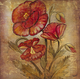Ancient Floral II Giclee Print by  Dysart