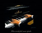 The Pianist Wydruk giclee autor Julia Drake