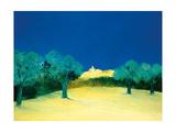 Lourmarin en Provence Giclee Print by Bernard Payet