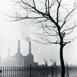 Kraftwerk Battersea Giclée-Druck von Henry Grant