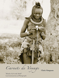 Himba Girl with Shell Giclée-tryk af Chris Simpson