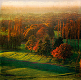 Marple Golf Course Giclee Print by Pete Kelly