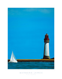 To The Lighthouse Giclee Print by Barbara James