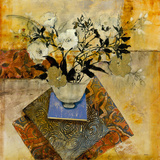 Patchwork Floral Giclee Print by  Patrick
