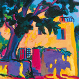 A Shady Corner Giclee Print by Gerry Baptist