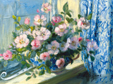 Wild Roses Giclee Print by Elizabeth Parsons