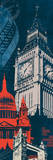 Heart of London Giclee Print by Tom Frazier