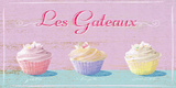 Les Gateaux Giclee Print by Malcolm Sanders