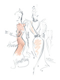 Haute Couture II Giclee Print by Jane Hartley