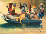 Gone Fishing Giclee Print by Bryan Moon