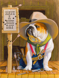 Have A Nice Day Giclee Print by Bryan Moon