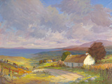 Home on the Hill Giclee Print by Hugh O'neill