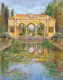 Temple Of Daphne II Giclee Print by Longo 