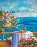 Dejeuner Sur La Cote D'azur I Giclee Print by Ginger Cook