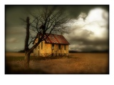 A Rural Scene with Small Church Photographic Print by Mia Friedrich