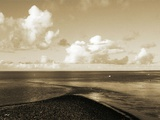 A Shingle Beach with Clouds Photographic Print by Katrin Adam