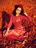 Retro Girl Photographic Print by Nadja Berberovic
