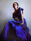 Blue Dress I Photographic Print by Malgorzata Maj