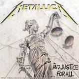 Metallica - And Justice For All-Vinyl Sticker Stickers