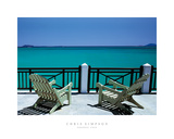 Paradise Cove Giclee Print by Chris Simpson