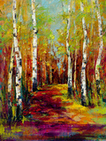 Aspen Trail Giclee Print by  Georgie