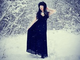Snow Angel Photographic Print by Nadja Berberovic