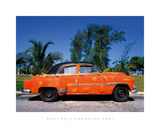 Varadero Taxi Giclee Print by Bent Rej